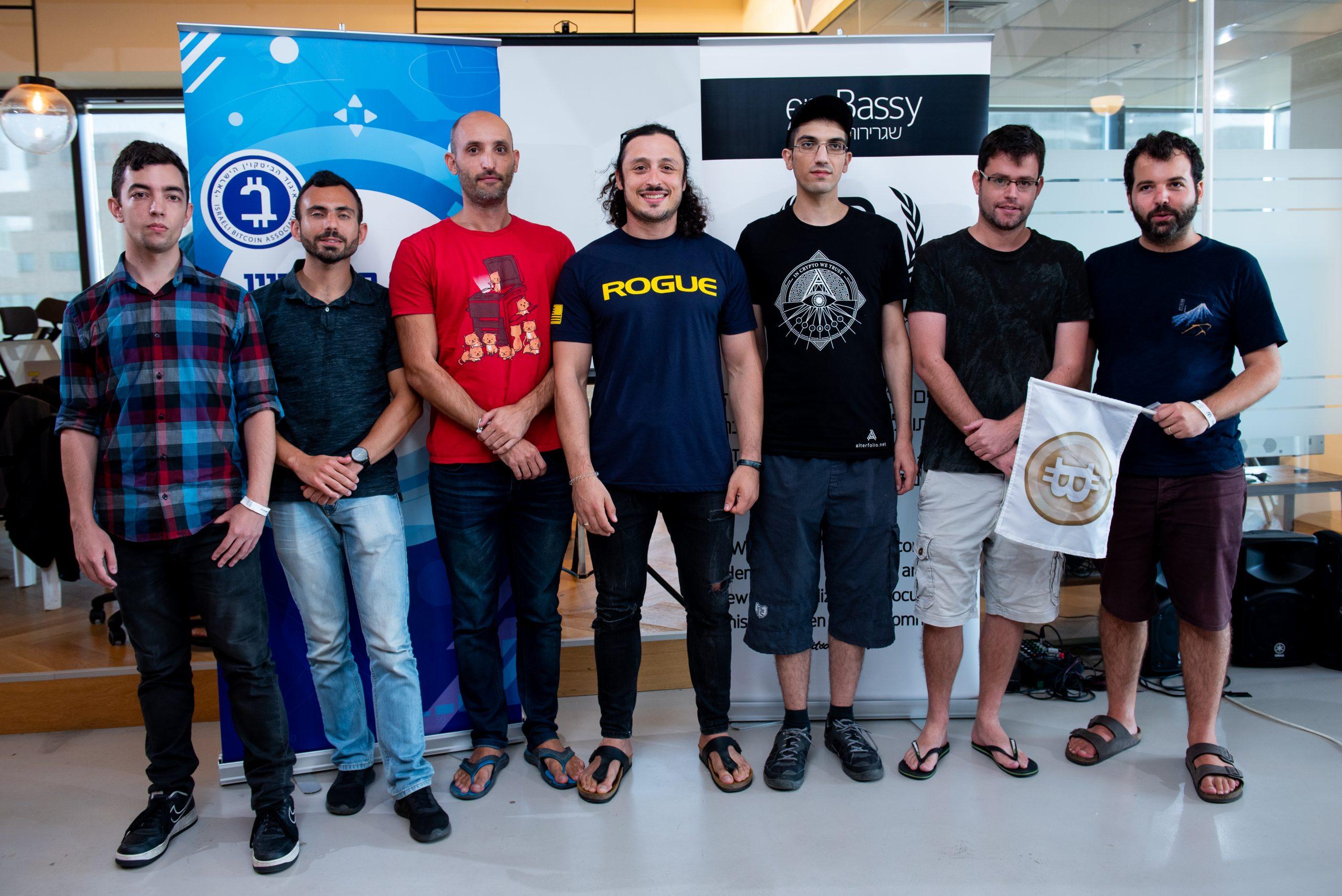 הצוותים הזוכים בהאקתון שגרירות הביטקוין - ספטמבר 2019
