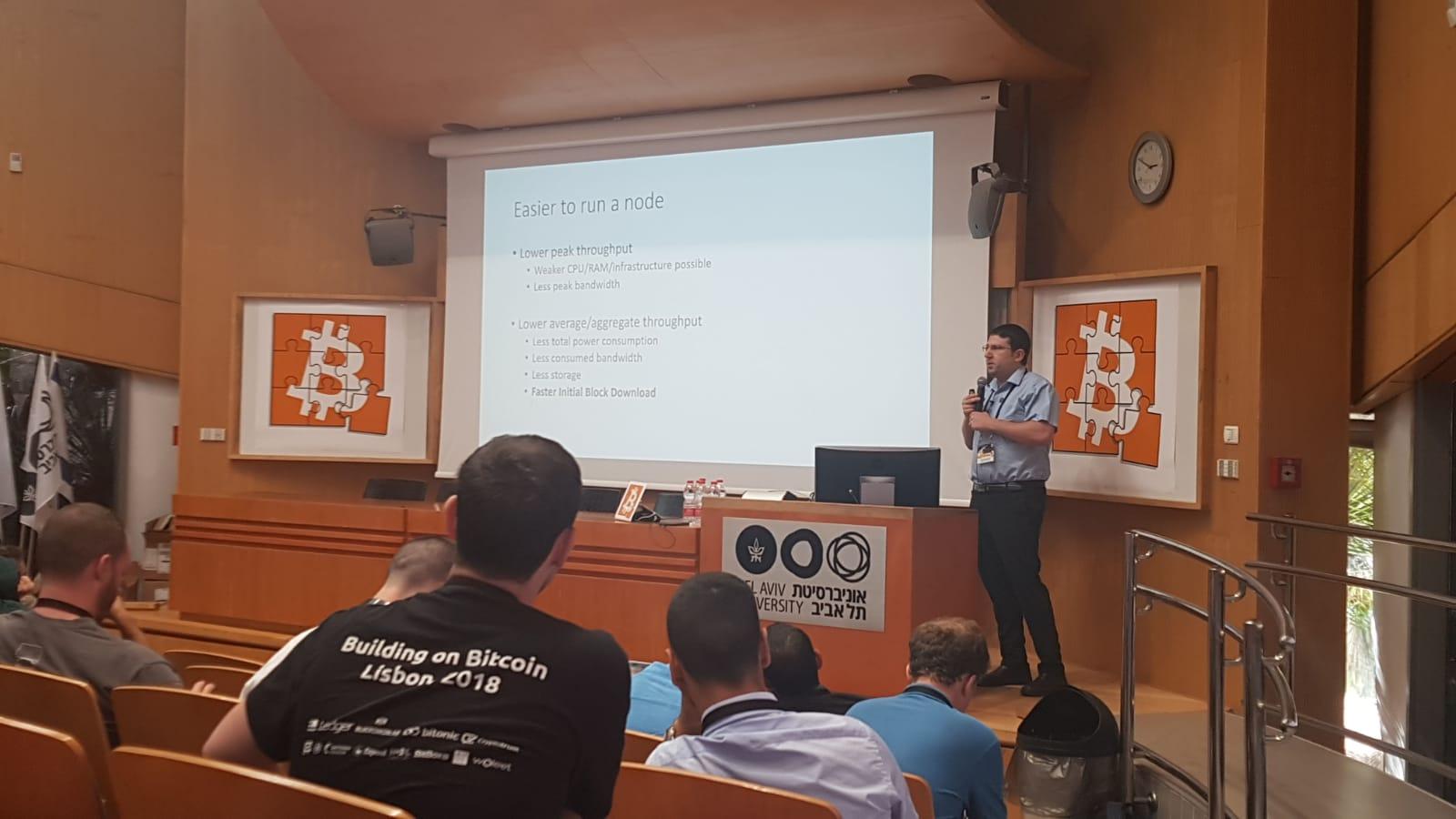מני רוזנפלד ב - Scaling Bitcoin 2019